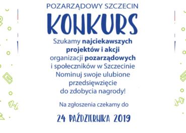 """""""Pozarządowy Szczecin"""" edycja 2019"""