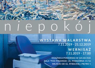 """Wystawa malarstwa: """"niepokój"""" Wandy i Jowity Żychniewicz"""