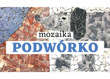 Kolejna podwórkowa mozaika w Szczecinie!