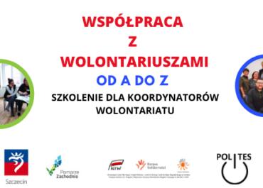 ''Współpraca z wolontariuszami od A do Z ''
