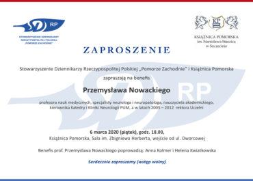 Benefis Przemysława Nowackiego