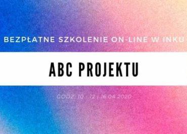 ABC Projektu - bezpłatne szkolenie online w INKU