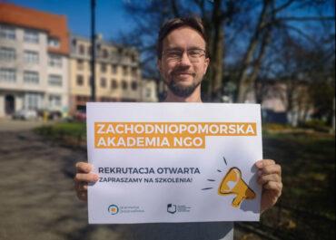 ZACHODNIOPOMORSKA AKADEMIA NGO - REKRUTACJA DO NOWYCH GRUP OTWARTA!