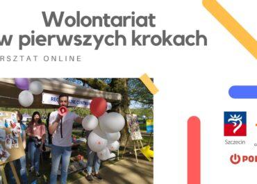 Warsztat online dla wolontariuszy| Wolontariat w pierwszych krokach