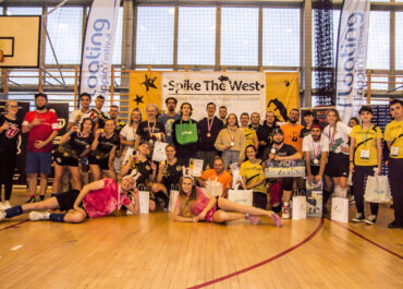 """Spike The West - Mistrzostwa Polski w Roundnet 2021"""" - finałowy turniej ogólnopolskiego cyklu rozgrywek """"Roundnet Poland Tour 2021 r."""
