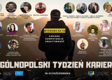 Ogólnopolski Tydzień Kariery - Wyprawa na 3K: Kariera Kompetencje Kreatywność