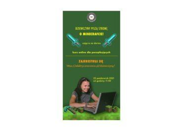 Pisanie strony HTML - zajęcia dla dziewczyn